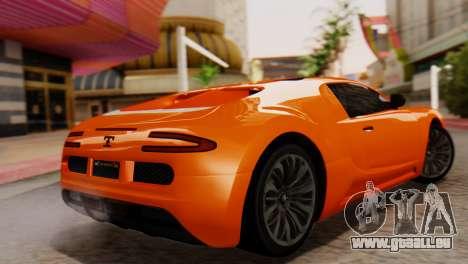 GTA 5 Adder Secondary Color für GTA San Andreas linke Ansicht