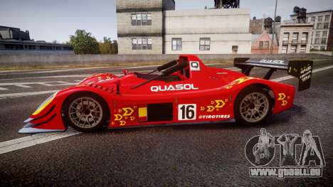 Radical SR8 RX 2011 [16] pour GTA 4 est une gauche
