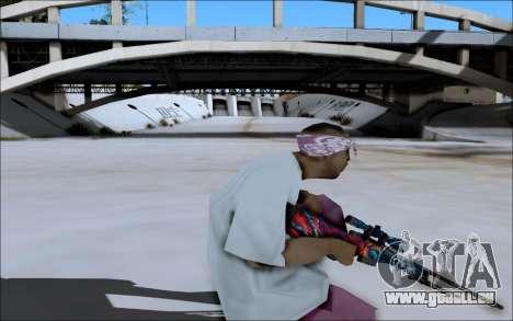 AWP Hyper Beast für GTA San Andreas her Screenshot