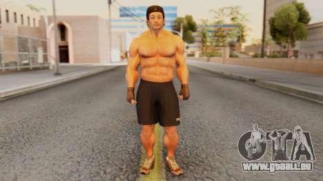 [GTA5] Bodybuilder für GTA San Andreas zweiten Screenshot