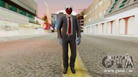 [PayDay2] Wolf für GTA San Andreas zweiten Screenshot