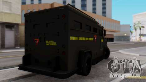 GTA 5 Enforcer Indonesian Police Type 2 für GTA San Andreas linke Ansicht