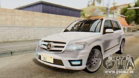 Mercedes-Benz GLK320 2012 pour GTA San Andreas