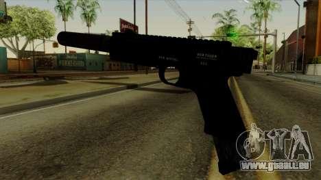AP Pistol with Supressor pour GTA San Andreas deuxième écran