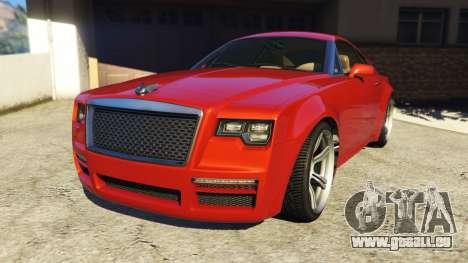 Enus Windsor Rolls Royce Wraith für GTA 5