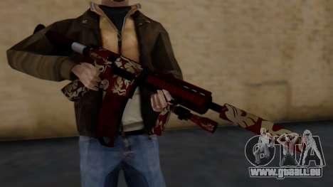 M4A1 Royal Dragon pour GTA San Andreas troisième écran