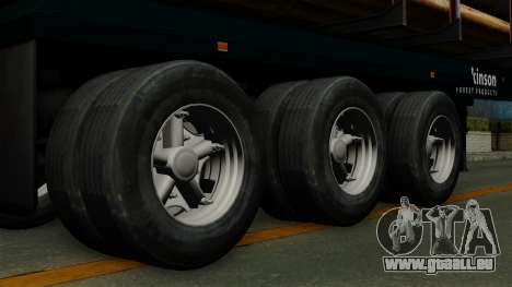 Trailer Log v2 für GTA San Andreas zurück linke Ansicht