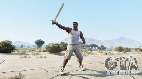 Schwert Excalibur für GTA 5