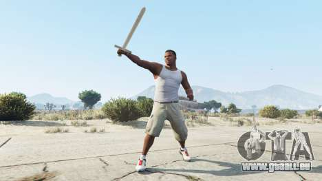 GTA 5 Schwert Excalibur zweite Screenshot