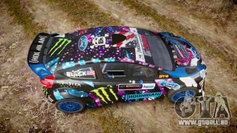 Ford Fiesta RS Ken Block 2015 pour GTA 4 est un droit