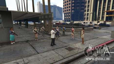 GTA 5 Bodyguard Menu 1.7 deuxième capture d'écran