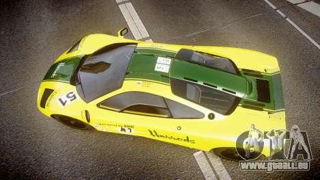 McLaren F1 1993 [EPM] Harrods für GTA 4 rechte Ansicht