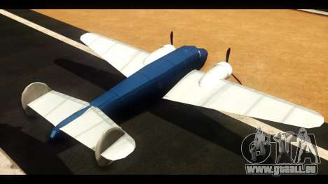 Bomber v1.0 für GTA San Andreas zurück linke Ansicht