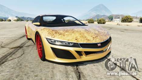 Dinka Jester (Racecar) Dirt für GTA 5