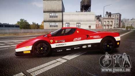 Ferrari Enzo 2002 [EPM] Scuderia Ferrari für GTA 4 linke Ansicht