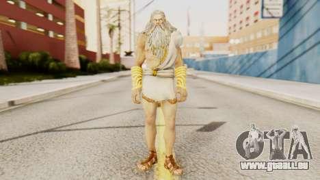 Zeus v2 God Of War 3 für GTA San Andreas zweiten Screenshot