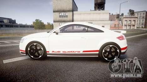 Audi TT RS 2010 Quattro pour GTA 4 est une gauche