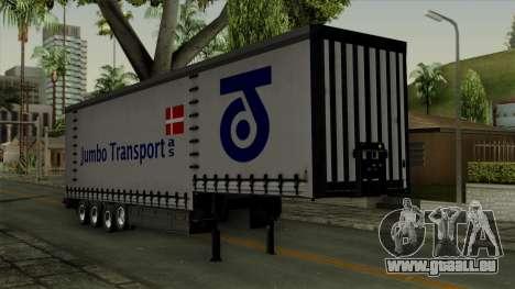 Trailer Krone Profiliner v4 für GTA San Andreas