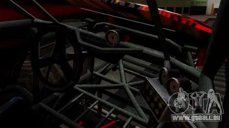 The Seventy Monster v2 pour GTA San Andreas vue intérieure