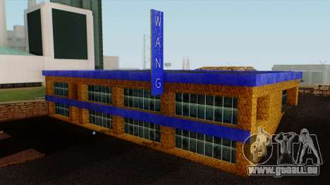 Le Wang Voitures Showroom pour GTA San Andreas deuxième écran