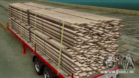 3achsflat pour GTA San Andreas vue arrière