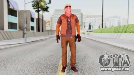 [BF Hardline] Gang Technician pour GTA San Andreas deuxième écran