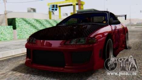 Mitsubishi Eclipse GSX 1999 Mugi Itasha für GTA San Andreas