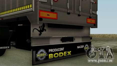 Bodex_TZ pour GTA San Andreas vue de droite