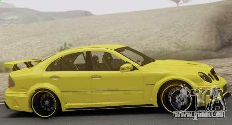 Mercedes-Benz E63 Qart Tuning für GTA San Andreas Seitenansicht