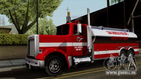 FDSA Helicopter Tender Truck pour GTA San Andreas