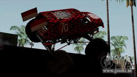 The Seventy Monster v2 pour GTA San Andreas laissé vue
