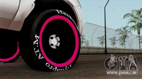 Toyota Hilux 2014 pour GTA San Andreas sur la vue arrière gauche