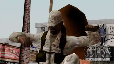 Der Afro-amerikanischen Soldaten Multicam für GTA San Andreas