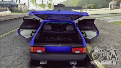 VAZ 2109 pour GTA San Andreas vue arrière