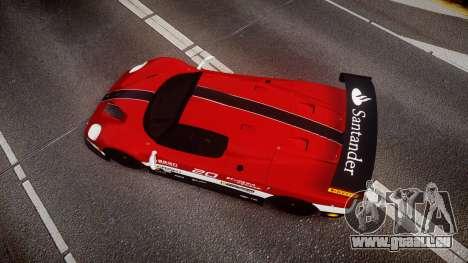 Ferrari F50 GT 1996 Scuderia Ferrari pour GTA 4 est un droit