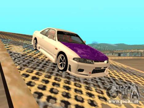 Nissan Skyline R33 Drift Monster Energy JDM für GTA San Andreas Innen