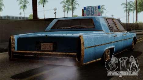 GTA 5 Albany Emperor Worn für GTA San Andreas linke Ansicht