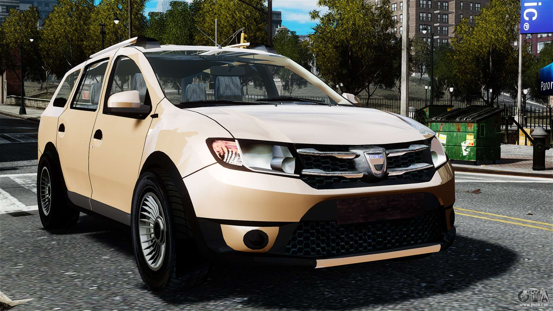 dacia logan mcv stepway 2014 pour gta 4. Black Bedroom Furniture Sets. Home Design Ideas