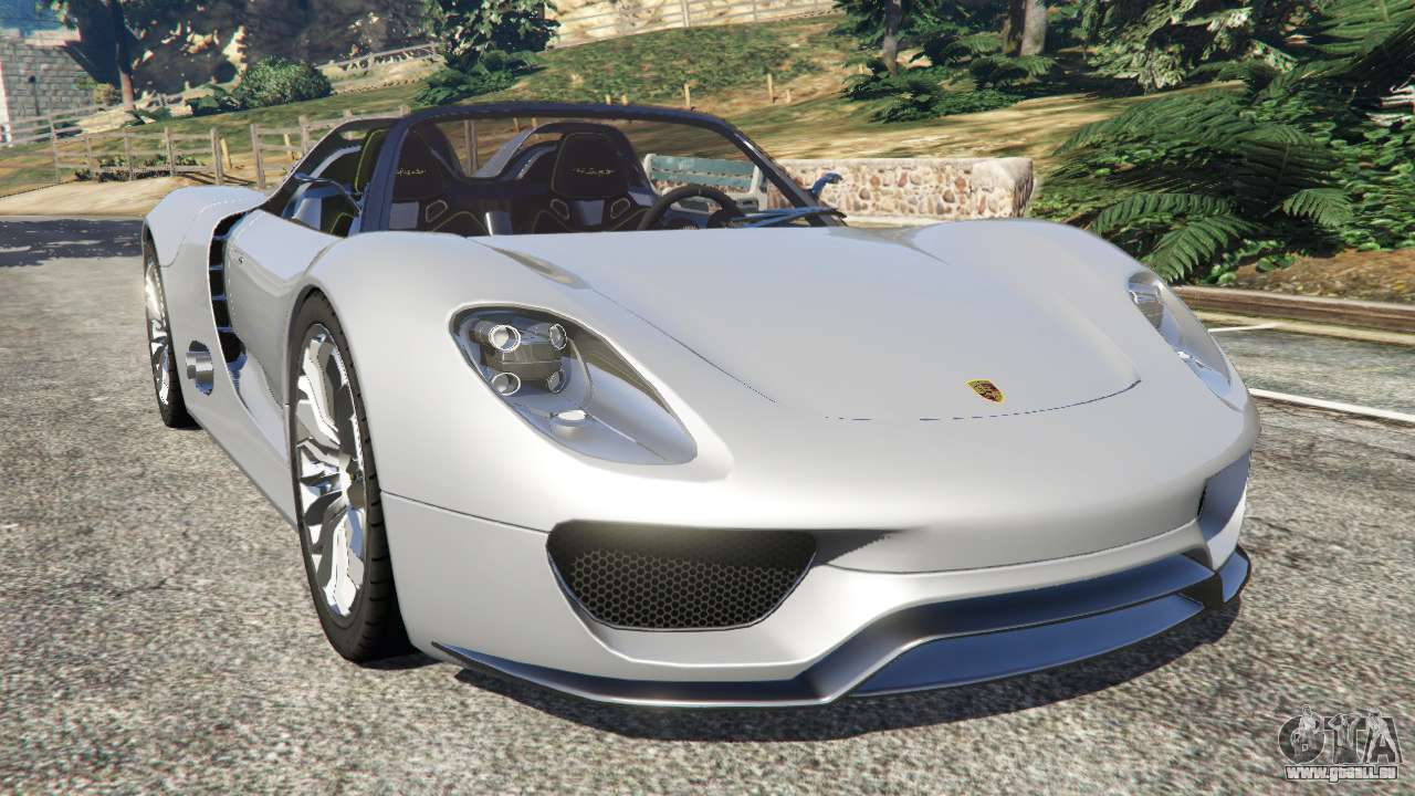 porsche 918 spyder pour gta 5. Black Bedroom Furniture Sets. Home Design Ideas