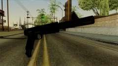 AP Pistol with Supressor für GTA San Andreas