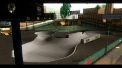 Krankenhaus-und skate-Park