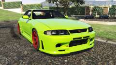Nissan Skyline BCNR33 [Beta] für GTA 5