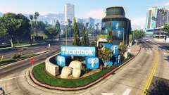 Aufbau des sozialen Netzwerks Facebook