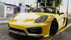 Porsche Boxter GTS 2016
