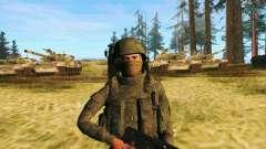 Pak combattants des troupes spéciales du GRU