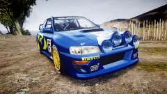Subaru Impreza WRC 1998 World Rally pour GTA 4