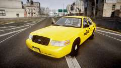 Ford Crown Victoria 2011 NYC Taxi