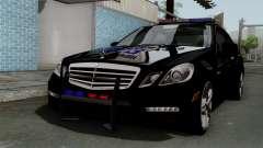 Mercedes-Benz E63 AMG Police Edition