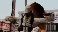 L'Afrique du soldat Américain Multicam