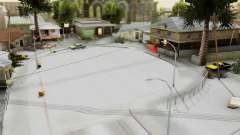 Winter Grove Street pour GTA San Andreas
